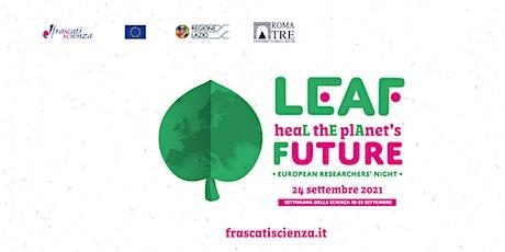 Notte europea 2021 - Modelliamo il paesaggio con le mani biglietti