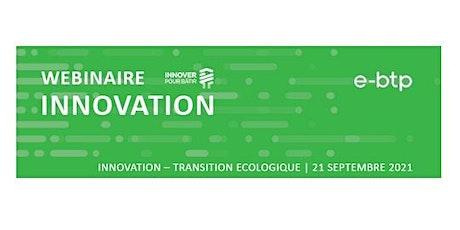 Webinaire INNOVATION : Transition écologique billets