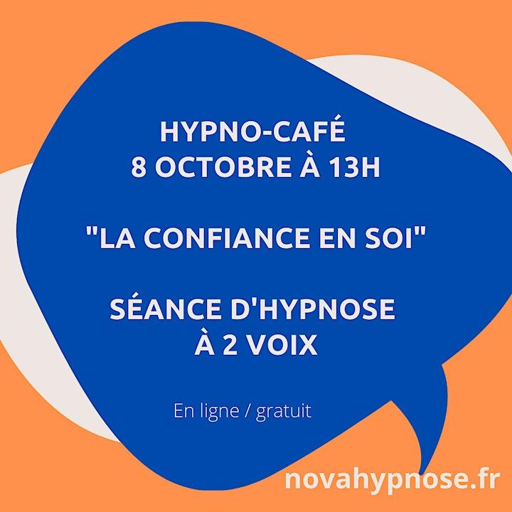 """Image pour Hypno-Café :  """"Séance d'hypnose à 2 voix : la conf"""