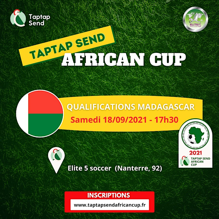 Image pour Qualifications Madagascar- TAPTAP SEND AFRICAN CUP