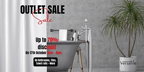 1-Day Outlet Sale - Everything must go tickets