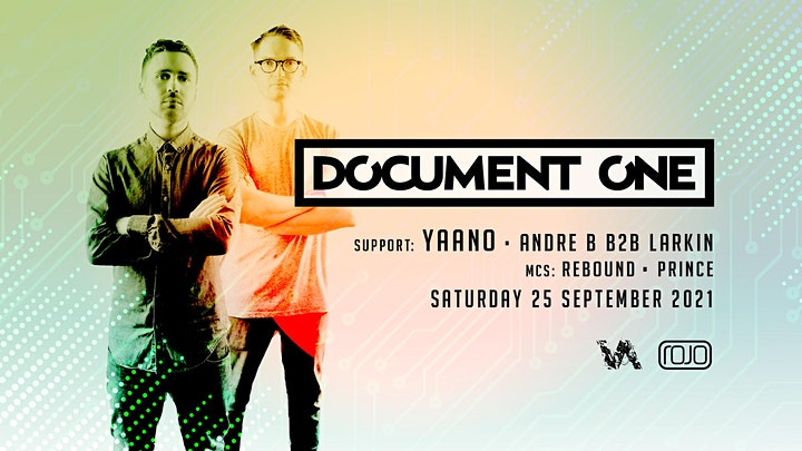 Vanguard present Document One (Debut Rojo Show) support YAANO + More image