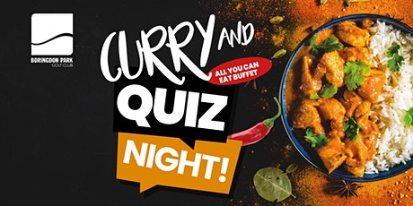 Curry and Quiz Night! tickets