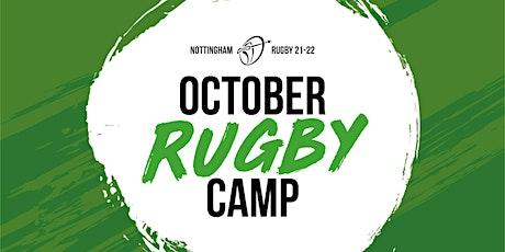 October Rugby Holiday Camp - Thursday 21st October (U8 - U12) tickets