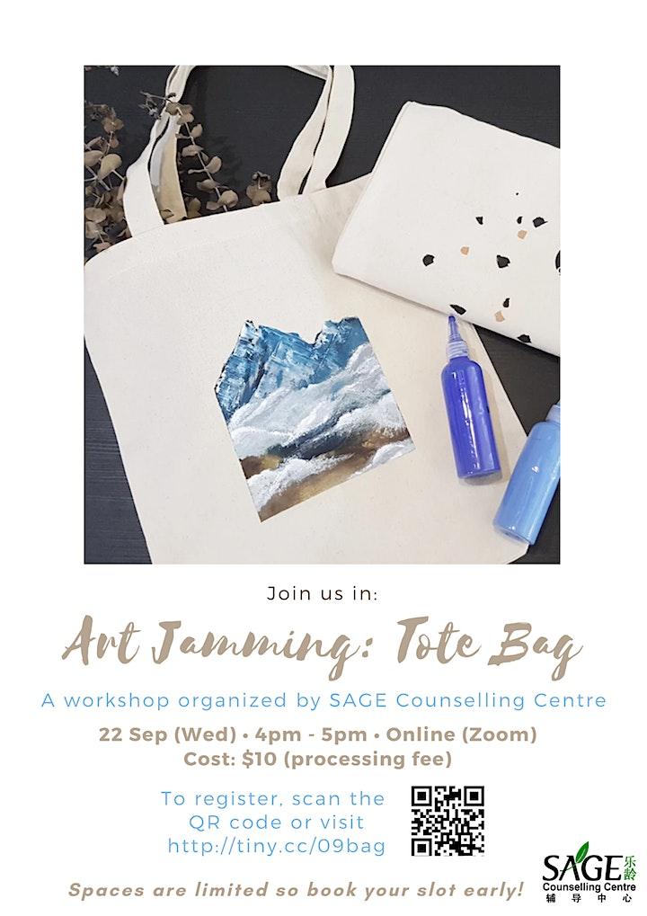 [SAGECC Silver September] Art Jamming Tote Bag image