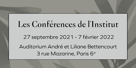 Conférences de l'Institut - L'archéologie française dans le monde - Cycle I billets