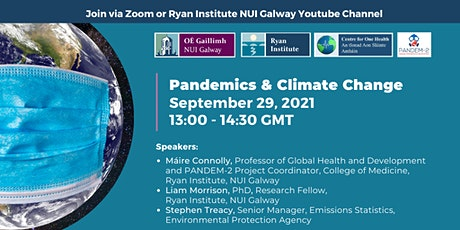 Pandemics and Climate Change tickets