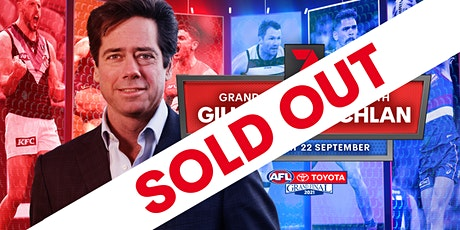 Channel 7 Grand Final Breakfast with Gillon McLachlan tickets
