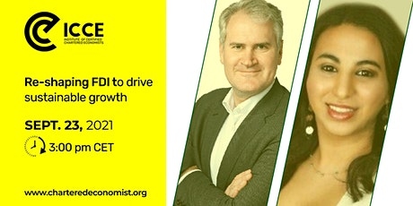 ICCE Webinar: Re-shaping FDIs to drive sustainable growth tickets