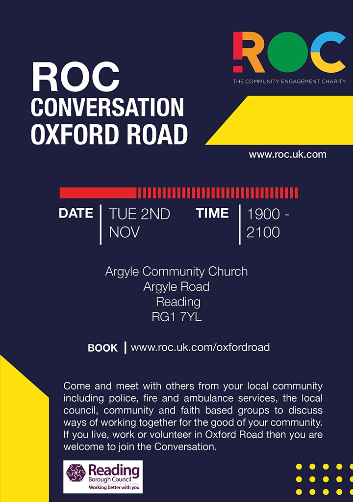 ROC CONVERSATION: Oxford Road image