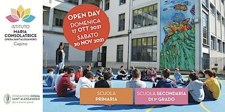 Istituto Maria Consolatrice / Open Day 2021 - 2022 biglietti