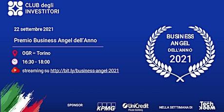 Premio Business Angel dell'Anno 2021 biglietti