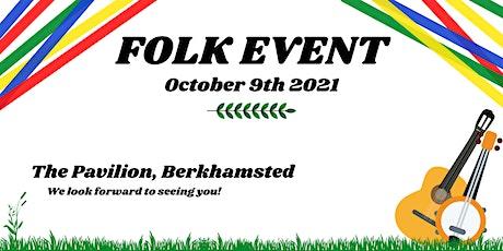 An evening of folk tickets