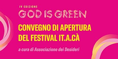 Io voglio Spazio | Convegno di apertura del Festival IT.A.CÀ Firenze biglietti