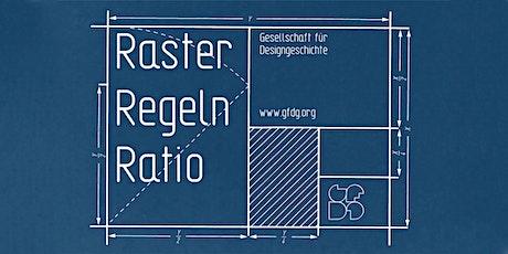RASTER, REGELN, RATIO - Systematiken und Normierungen im Design Tickets