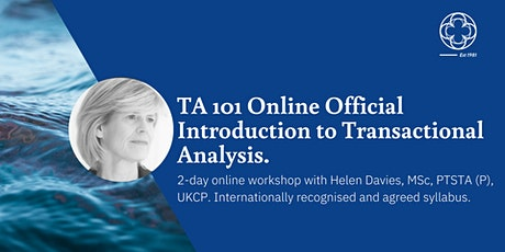 TA 101 Official Introduction to Transactional Analysis tickets
