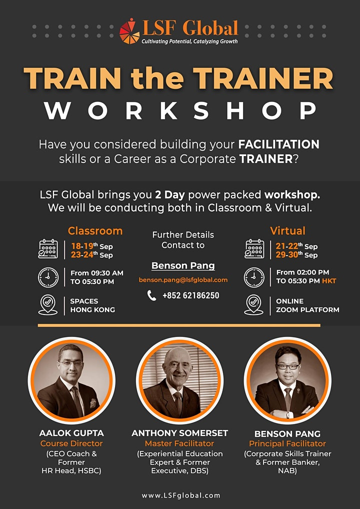 Train the Trainer Workshop image