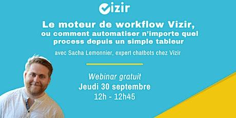 Webinar : Utiliser le moteur de workflow Vizir tickets