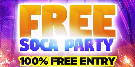 Free Soca Party tickets