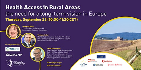Health Access in Rural Areas : The need for a long-term vision in Europe tickets