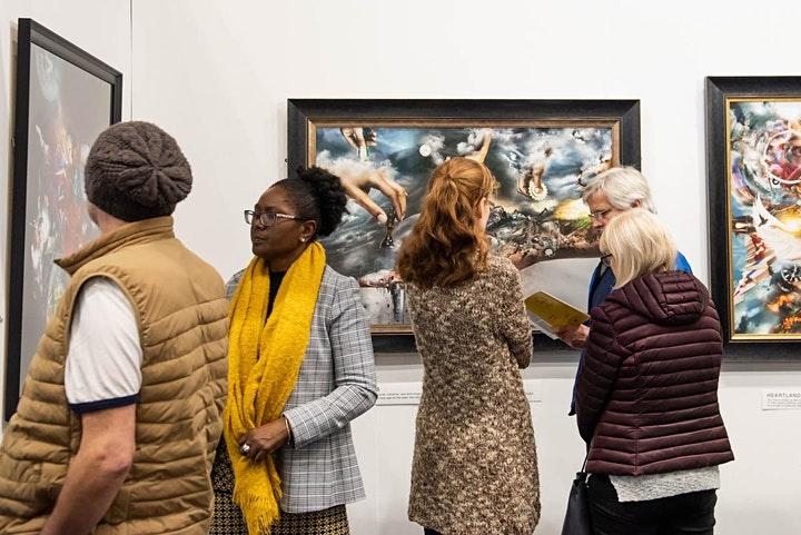 White Circle Manchester Art Fair 2021 image