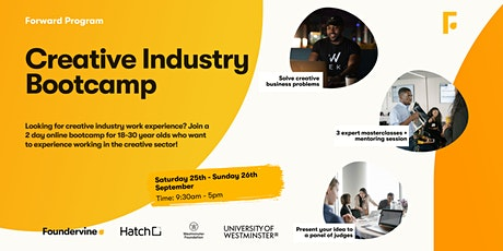 Creative Industry Bootcamp tickets