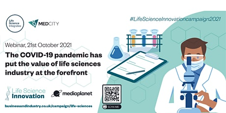 UK life sciences industry at the forefront during COVID-19 pandemic tickets
