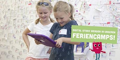 Herbstferien-Camp: Die digitale Welt entdecken 11.10.-14.10.21 Tickets