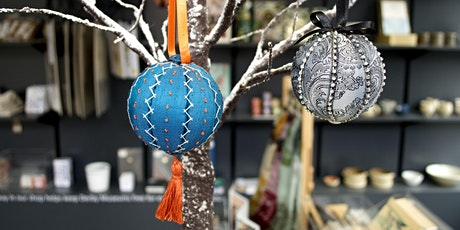 Christmas Bauble Making Workshop tickets