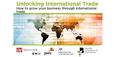 Unlocking International Trade tickets