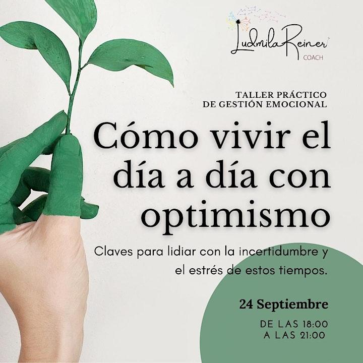 Imagen de Como vivir el día a día con optimismo.