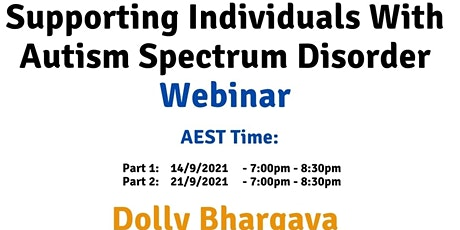 AEST Supporting individuals with Autism Spectrum Disorder tickets