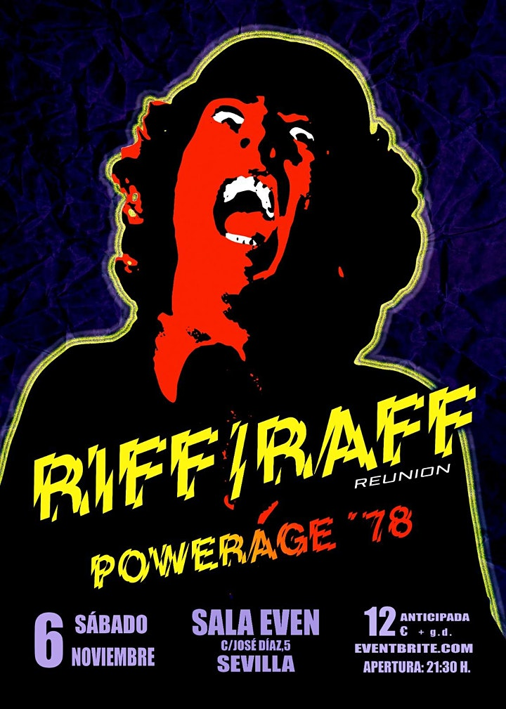 Imagen de RIFF / RAFF  Especial Powerage