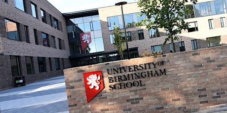 UoB School Open Evening 23.09.21 tickets