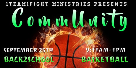CommUnity Basketball Game/Drive-Thru Back2School Giveaway tickets