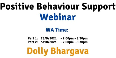 WA Time Positive Behaviour Support tickets