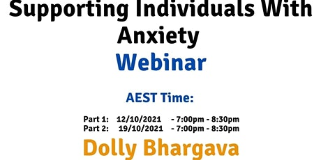 AEST Supporting individuals with Anxiety tickets