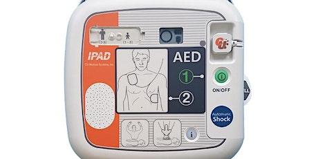 CPR/Defibrillator training course tickets