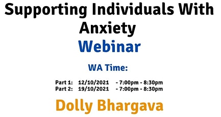 WA Time Supporting individuals with Anxiety tickets