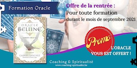 Coaching & Spiritualité : Formation - Initiation : Oracle Belline billets