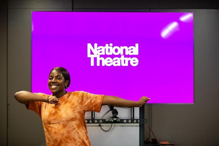 Movement workshop with National Theatre Choreographer, Jackie Kibuka image