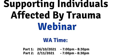 WA Time Supporting individuals affected by trauma tickets