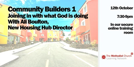 Community Builders  1- Joining in with what God is doing tickets