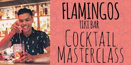 Cocktail Making Masterclass at Flamingos Tiki Bar tickets