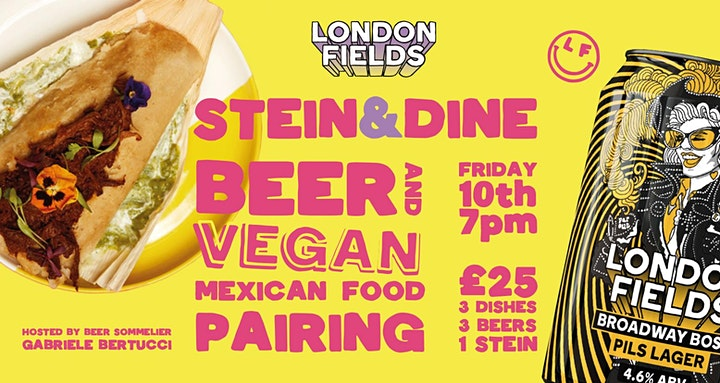 London Fields Lager Fest! Quiz Night Food & Beer pairing and Drag Bingo image