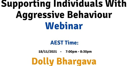 AEST Supporting individuals with aggressive behaviour tickets