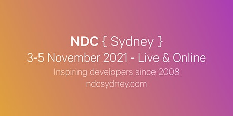 NDC Sydney 2021 - Online -  Conference for Software Developers tickets