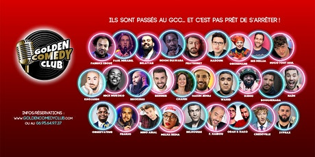 GOLDEN COMEDY CLUB : Le Best Of ! billets