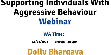 WA Supporting individuals with aggressive behaviour tickets