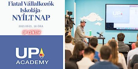 UP academy Bootcamp - NYÍLT NAP a Fiatal Vállalkozók Iskolájában tickets